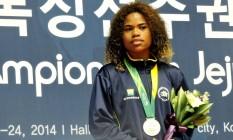 Flagrada em exame antidoping, Clélia Costa foi suspensa por 180 dias Foto: CBBoxe / Divulgação