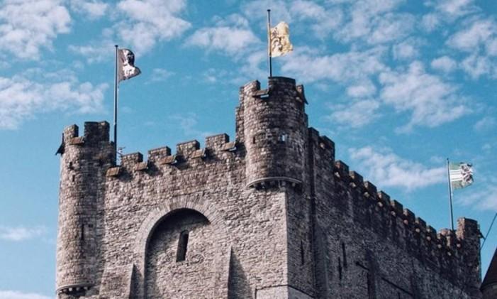 Castelo em Gent, Bélgica Foto: @mlmenezes / Instagram