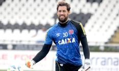 Martín Silva em treino do Vasco Foto: Divulgação
