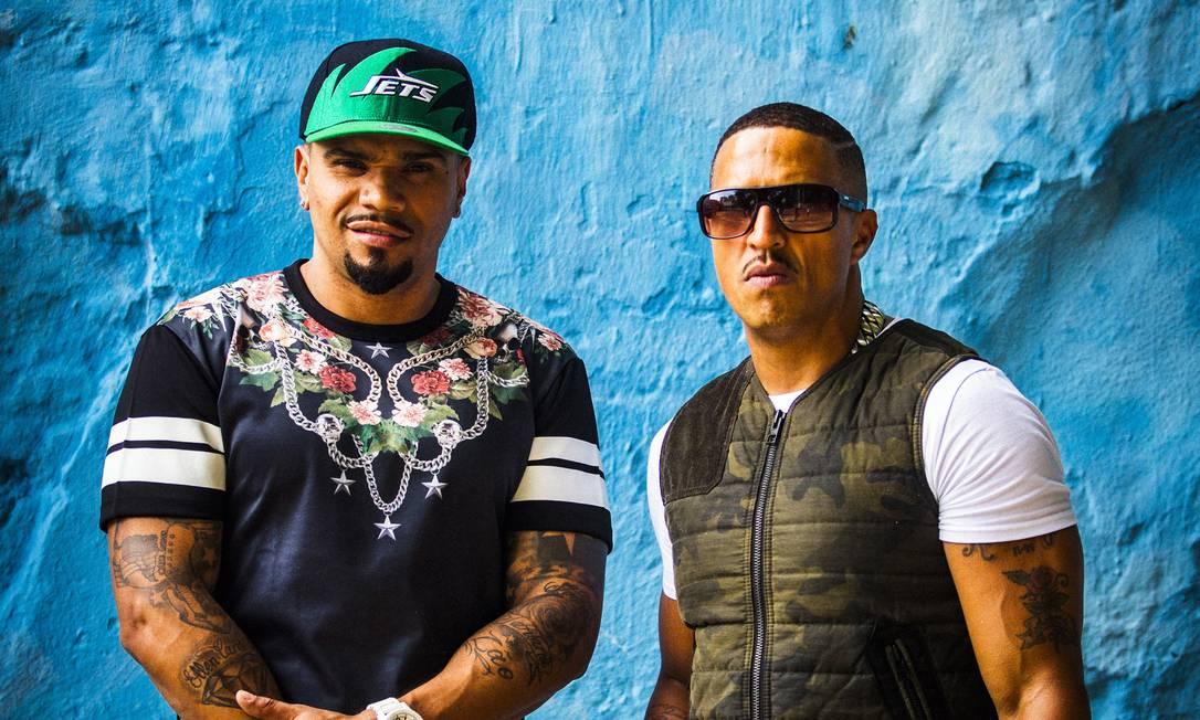 Juntos. Naldo Benny (à esquerda) e Mano Brown gravaram clipe em São Paulo e no Rio. Foto: / Fabio Seixo