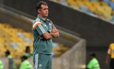 Eduardo Baptista disse que o Fluminense teve atitude no segundo tempo Foto: Divulgação/Fluminense
