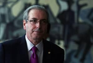 Presidente da Câmara, Eduardo Cunha (PMDB-RJ) Foto: Jorge William / Arquivo O Globo