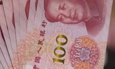 Notas de yuan Foto: Xaume Olleros / Bloomberg News/12-11-2015