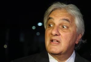 O senador Delcídio Amaral Foto: Ailton de Freitas/30-04-2015 / Agência O Globo