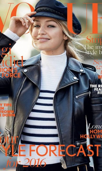 """E 2016 promete ser dela também: ela é a capa de janeiro da """"Vogue"""" inglesa Divulgação"""