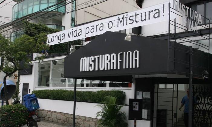Mistura Fina, na Lagoa Foto: André Coelho / Agência O Globo