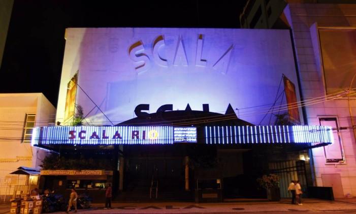 Fachada do Scala Foto: Fernando Quevedo / Agência O Globo