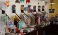 Bazar dp Ateliê Panacéia, na Vila Madalena