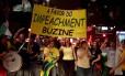 Movimentos pró-impeachment da presidente Dilma, na Avenida Paulista.