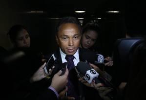 O lider do PT na Câmara. Sibá Machado Foto: Ailton de Freitas/15-04-2015 / Arquivo O Globo