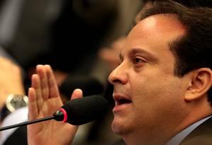 O deputado André Moura (PSC-SE) Foto: Jorge William/19-11-2015 / Arquivo O Globo