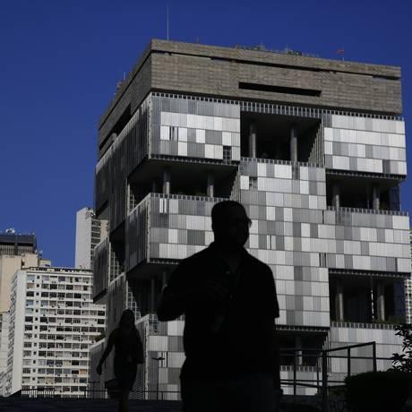 Sede da Petrobras, no Centro do Rio Foto: Dado Galdieri / Bloomberg