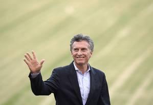 Sem reservas. Equipe nega que Macri pedirá empréstimo ao Brasil Foto: JUAN MABROMATA / AFP/ 2-12-2015