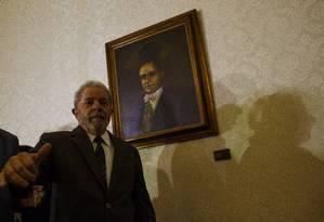 O ex-presidente Lula Foto: Daniel Marenco / Agência O Globo