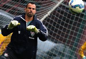 Diego Cavalieri será poupado de confronto que pode definir futuro do Vasco Foto: Nelson Perez/Fluminense F.C.
