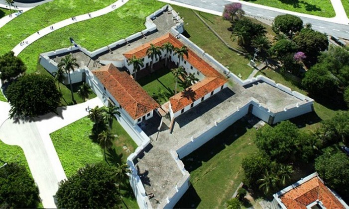 Forte Cinco Pontas, Recife Foto: Divulgação