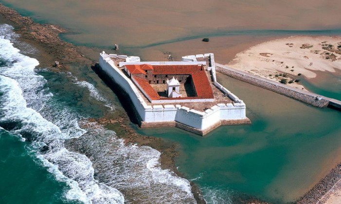 Forte dos Reis Magos, no Rio Grande do Norte Foto: Divulgação