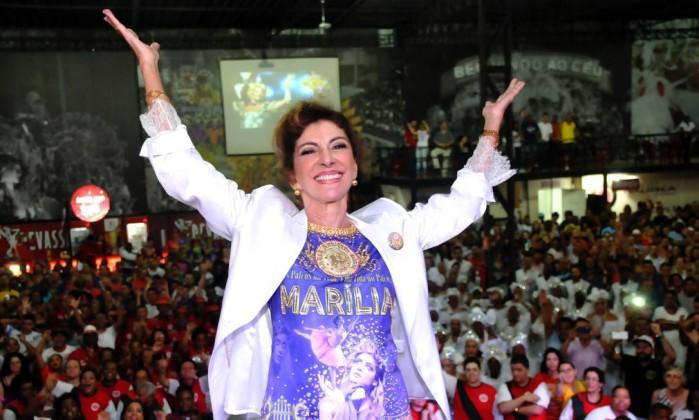 No final de 2014, Marília frequentou a quadra da escola de samba de São Paulo Mocidade Alegre. O enredo da agremiação foi em homenagem à carreira da atriz Divulgação