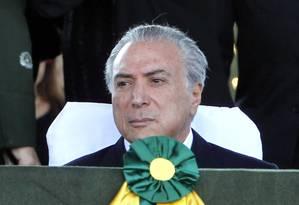O vice-presidente Michel Temer Foto: Givaldo Barbosa/25-08-2015 / Arquivo O Globo