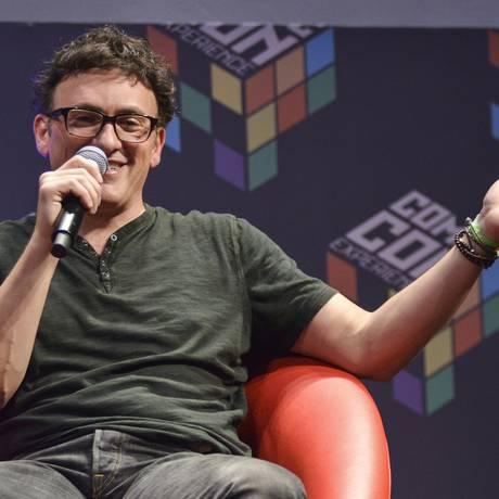 Anthony Russo, diretor de 'Capitão América: Guerra Civil', na Comic Con Experience Foto: Daniel Deak/Divulgação