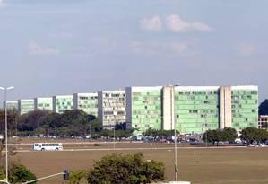 A Esplanada dos Ministérios, em Brasília Foto: Ailton de Freitas / Ailton de Freitas/10-9-2003