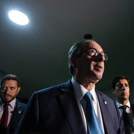 O deputado Eduardo Cunha, presidente da Câmara Foto: André Coelho / Agência O Globo