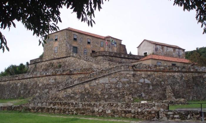 Forte de São José da Ponta Grossa, Florianópolis Foto: Creative Commons