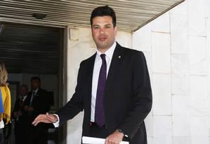 O líder do PMDB na Câmara, Leonardo Picciani Foto: Ailton de Freitas/05-08-2015 / Arquivo O Globo