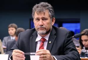 Zé Geraldo (PT-PA), integrannte da Comissão de Ética, chegou a declarar estar 'com a faca no pescoço' Foto: Luís Macedo / Agência Câmara 04/11/2015