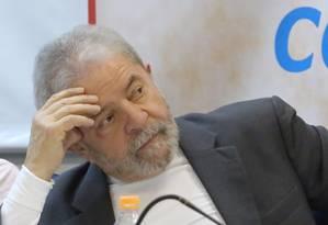 O ex-presidente Luiz Inácio Lula da Silva Foto: Marcos Alves/07-12-2015 / Agência O Globo