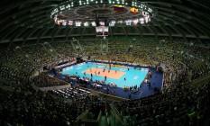 O Maracanãzinho, sede olímpica do vôlei na Rio-2016 Foto: Divulgação