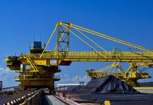 Exportação de produtos como o minério de ferro ajudaram no superávit da balança comercial Foto: Dado Galdieri/4-12-2014