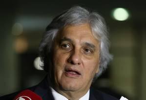 O senador Delcídio Amaral, em junho de 2015 Foto: Ailton de Freitas / Agência O Globo / 3-6-2015