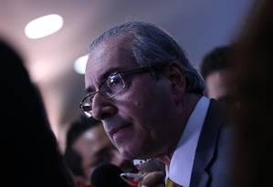 O presidente da Câmara, deputado Eduardo Cunha (PMDB-RJ) Foto: André Coelho / Agência O Globo