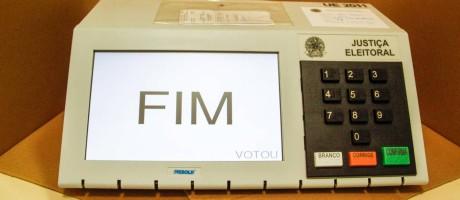 TSE confirma utilização da urna eletrônica nas eleições de 2016 Foto: William Volcov/Divulgação/28-10-2012