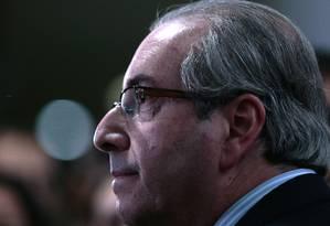 Cunha contesta tese defendida por Renan Foto: Jorge William / Agência O Globo