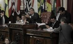 Plenário da Câmara durante a aprovação do projeto do PUR em primeira discussão Foto: Divulgação / Sérgio Gomes
