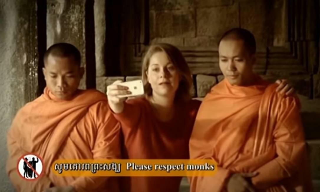 Vídeo mostra as gafes mais comuns dos turistas em Angkor Wat
