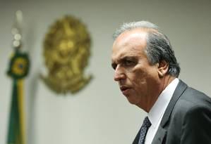 O governador do Rio de Janeiro, Luiz Fernando Pezão Foto: André Coelho / Agência O Globo / 10-12-2015