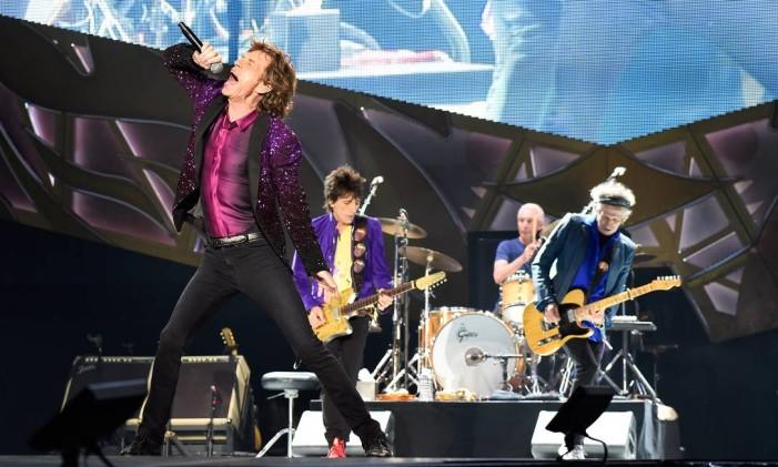 A banda britânica Rolling Stones Foto: Kevin Mazur/Divulgação