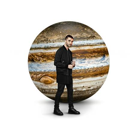 Detalhe da capa do álbum