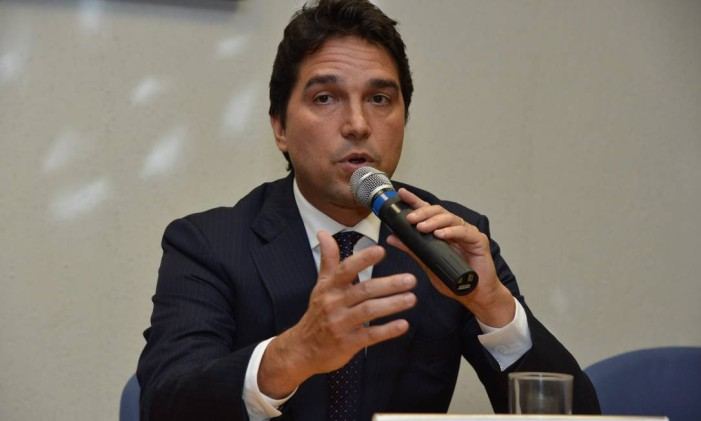 O ex-vice-presidente de Loterias, Fábio Ferreira Cleto Foto: Valter Campanato / Agência O Globo