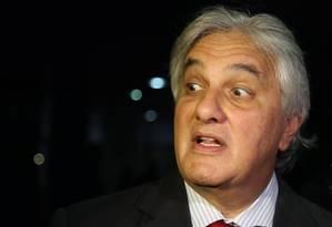 O senador Delcídio Amaral Foto: Ailton de Freitas / Agência O Globo/Arquivo 30/04/2015