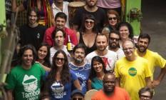 Espírito natalino. Participantes da festa de sábado, que reunirá 20 blocos da cidade Foto: Hermes de Paula