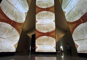 Interior do Museu do Amanhã Foto: Luiz Ackermann / Agência O Globo