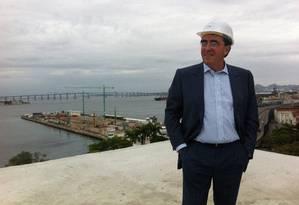 Santiago Calatrava, arquiteto que projetou o Museu do Amanhã Foto: Divulgação