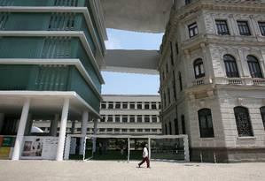 Museu de Arte do Rio (MAR) Foto: O Globo / Luiz Ackermann