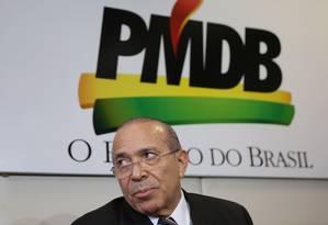 Avaliação. Padilha minimizou operação e disse que não há ninguém do PMDB preso Foto: Michel Filho/7-12-2015