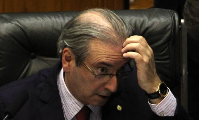 Presidente da Câmara dos Deputados, Eduardo Cunha Foto: Givaldo Barbosa / Agência O Globo