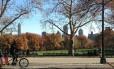 O icônico Central Park, em Nova York